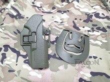 Blackhawk CQC Зеленый Кобура Тактический охота аксессуары Airsoft RH Пояса Пистолет Кобура для Glock 17 18 19 23 32 36