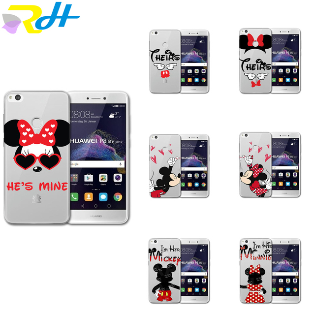coque p10 huawei mickey