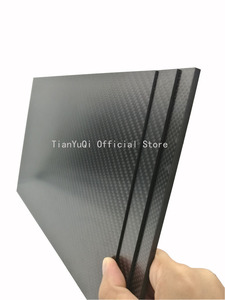 Image 4 - 200X300 mm  High Composite Hardness Material Carbon Fiber Board 0.5, 1,1.5, 2,3, 4, 5mm Carbon Plate Panel Sheets