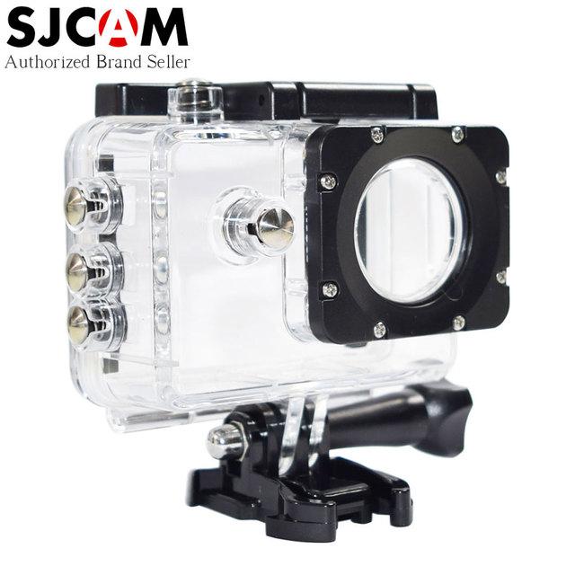 Original sjcam sj5000 caso à prova d' água debaixo d' água 30 m mergulho habitação para sj5000x 4 k/sj5000 mais/sj5000 wifi câmera de ação esporte