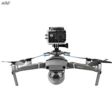 Pour gopro & osmo action & panoramique support de caméra supports Base avec amortisseur cardan pour dji mavic 2 pro & zoom drone