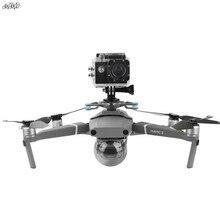 Voor gopro & osmo actie & panoramische camera houder mounts Base met Schokdemper gimbal voor dji mavic 2 pro & zoom drone