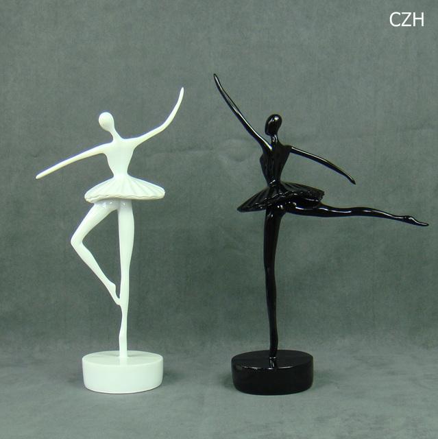Modern Abstract Ballet Dancer Figurine Handmade Resin Ballerina Statue Decor Home Art And Craft Ornament Present Accessories Arts And Crafts Art Statueart Abstract Aliexpress