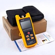 Telecomunicaciones 70 + 6dBm JW3208A medidor de potencia óptica probador de fibra óptica con conector FC SC ST LC