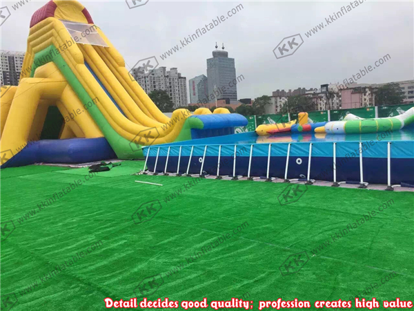 Fun Water Toys For Adults : Durable water palace best quality inflatable slide