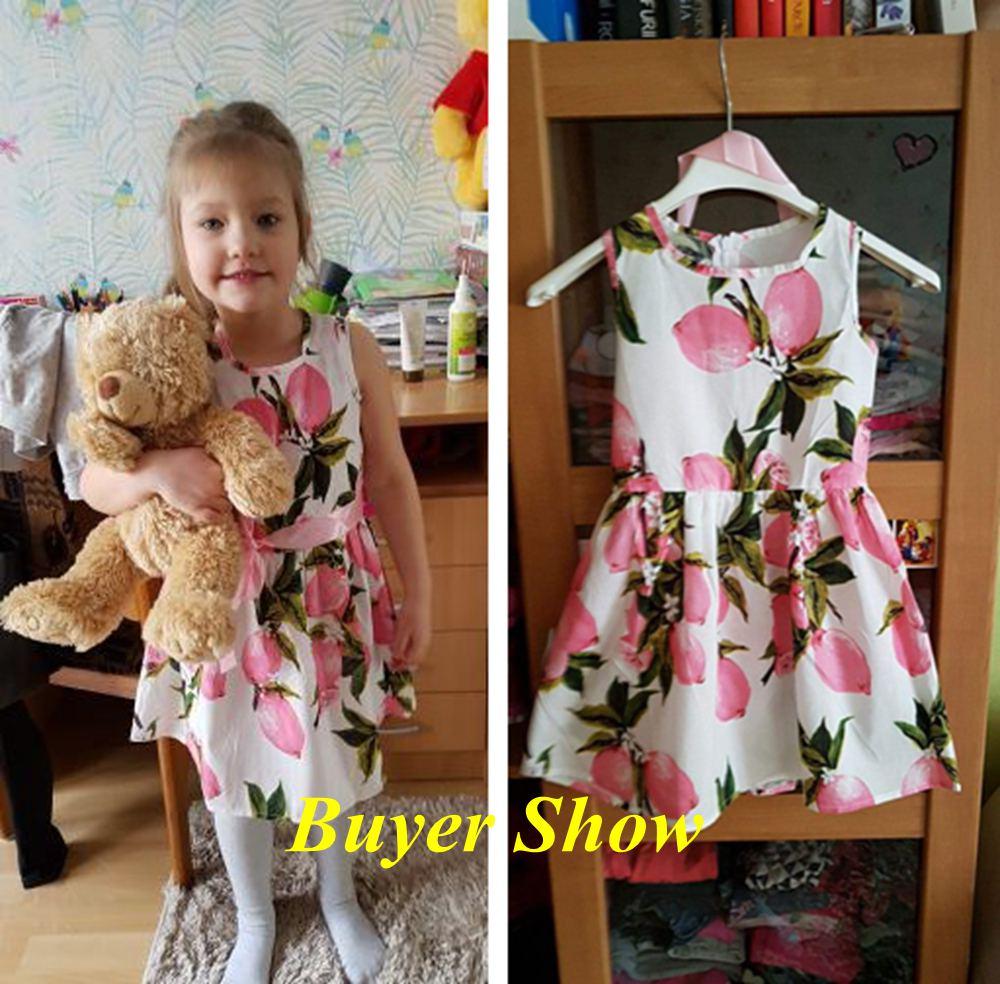 HTB1cAcqluSSBuNjy0Flq6zBpVXa3 Floral Children Baby Dresses Girl Wedding Party;Princess 1 Year Birthday Girls Dress Cotton Summer 2017 Teenage Vestido Infantil