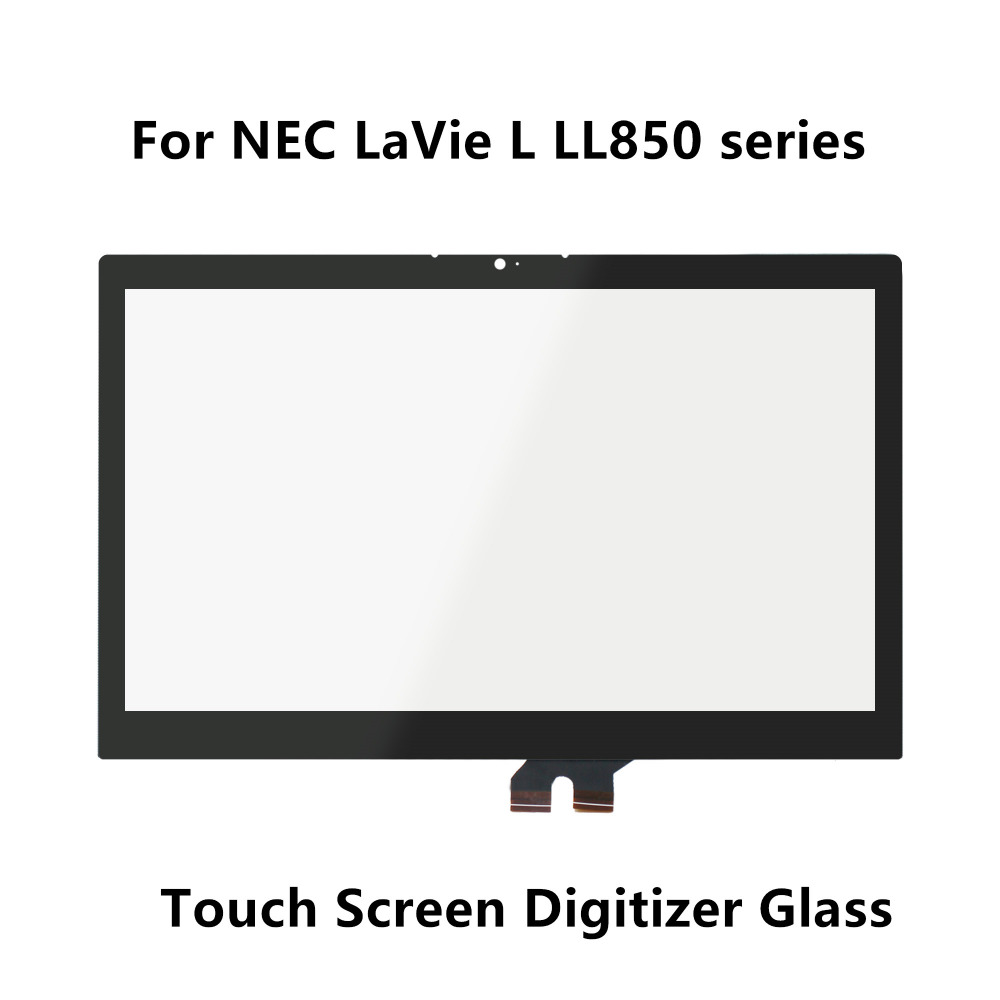 15.6''For NEC LaVie L LL850 series L LL850/SSB PC-LL850SSB L LL850/RSB PC-LL850RSB Touchscreen Digitizer Panel Glass Replacement 11 1v 42wh 3760mah pc vp bp93 op 570 77023 laptop battery for nec for lavie z lz650 lz750