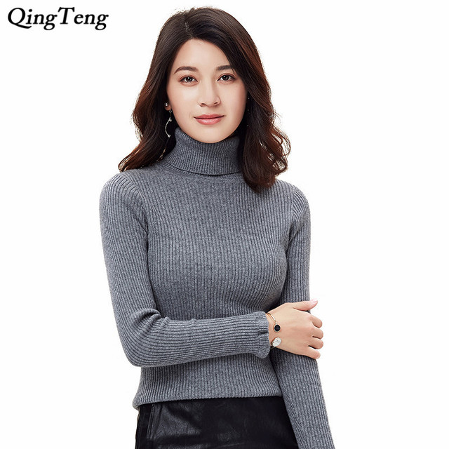a8210f89af617b Pure Cashmere Turtleneck Sweater Rib Knit Winter Warm Lightweight Luxurious  Pullover Slim Elastic Sexy Jumper High Neck