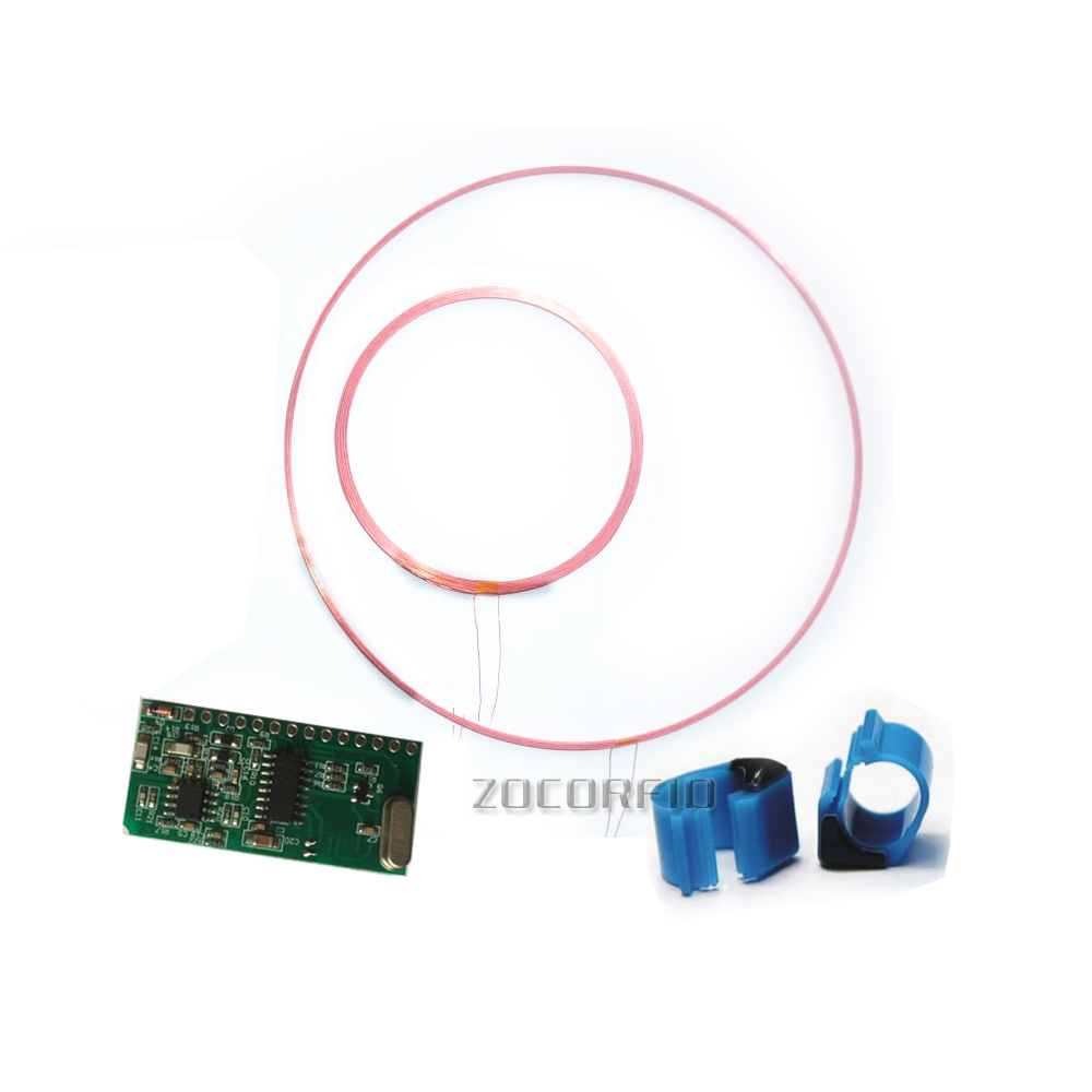125-134.2KHZ Long Distance RFID Animal Tag Reader Module TTL Interface ISO11784/85 FDX/HDX