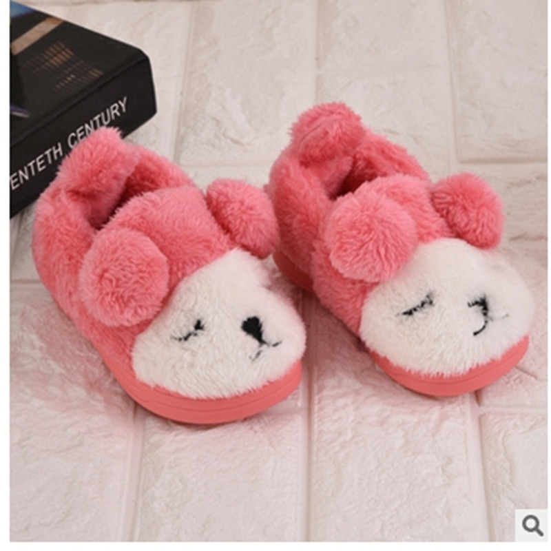 shoes for cheap official photos good out x US $10.23 5% OFF Winter Boy Girl Children Slippers Kid Cartoon Cute  Slippers Warm indoor Shoes-in Slippers from Mother & Kids on AliExpress
