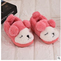 Winter Boy Girl Children Slippers Kid Cartoon Cute Slippers Warm indoor Shoes