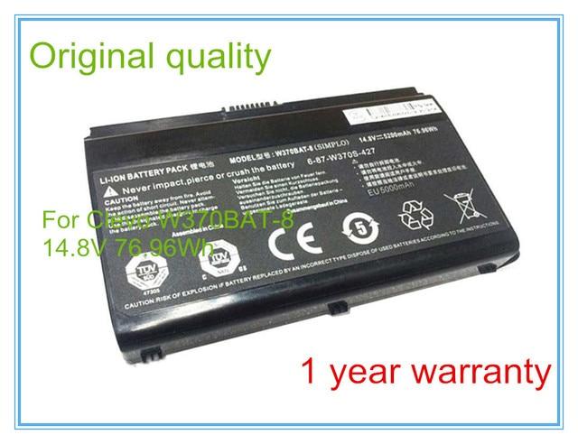 Оригинальный Аккумулятор Для Ноутбука W370BAT-8 Sager NP6350 NP6370 NP7370 NP7352 NP7355 NP7358 NP7378 Серии