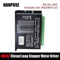 Hybrid Step servo motor NEMA 17 NEMA23 Closed Loop Servo Driver HBS57 CNC Controller Kit
