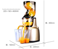 Whole Slow Juicer 300W 75 cm Fruits Low Speed Juice Extractor Juicers Fruit Machines