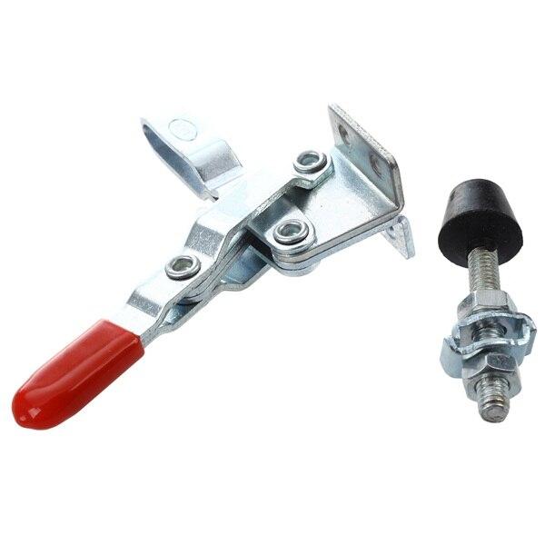 New Red 102B 180Kg 397 Lbs Holding Capacity U Shape Bar Vertical Toggle Clamp LW