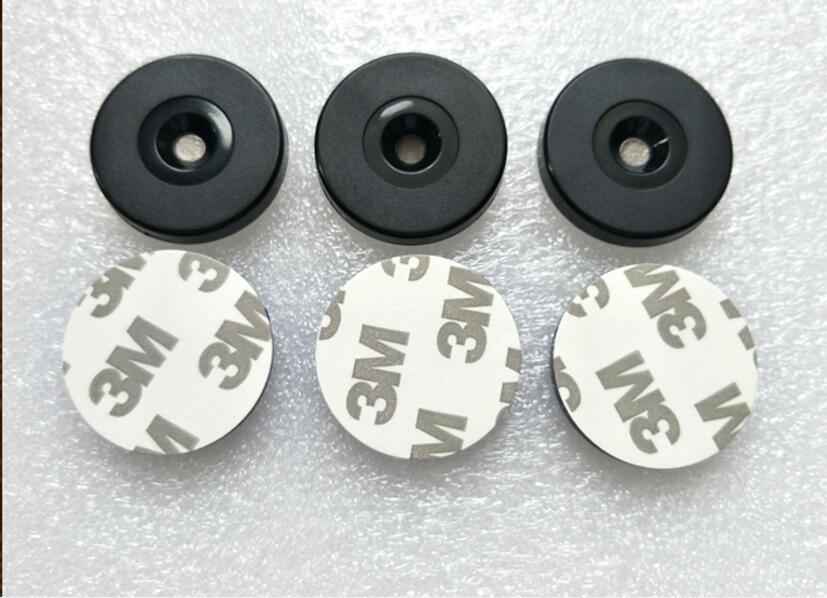 100pcs 35mm*4.0mm Diameter Nfc Tag Nfc Anti-metal Patrol Tag Ntag213 Anti-metal Patrol Tag 144bytes Ntag Tag Access Control