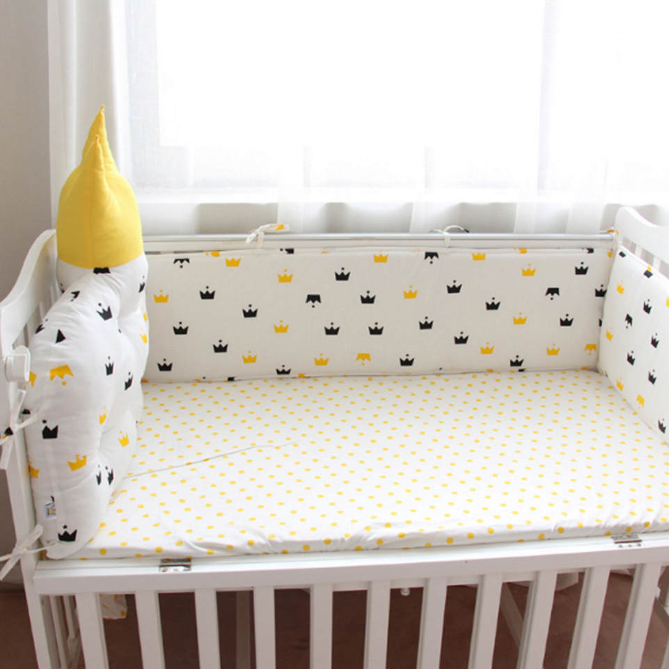 Nordic style baby bedding set bed sheet three separate set ...