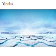 Yeele Winter Scenery Iceberg Room Decor Beauty Photography Backdrops Personalized Photographic Backgrounds For Photo Studio