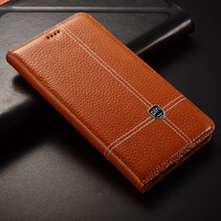 For ZTE Nubia M2 Case Flip Stand Magnetic Genuine Leather Cover Mobile Phone Bag For ZTE