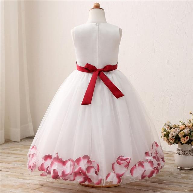 Fancy Flower Teen Girl Dress Children\'s Clothing Girl Wedding ...