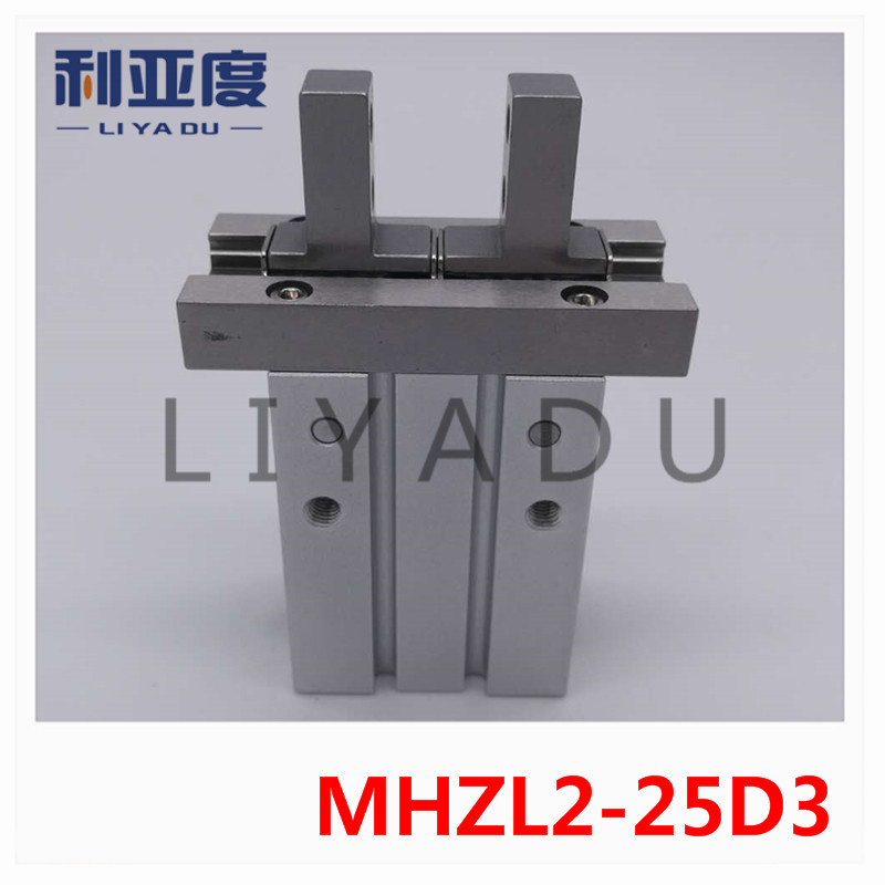 MHZL2-25D3 SMC finger cylinder Extended pneumatic finger stroke lengthening parallel pneumatic claw smc brand new original finger cylinder grip claw claw mhl2 16d
