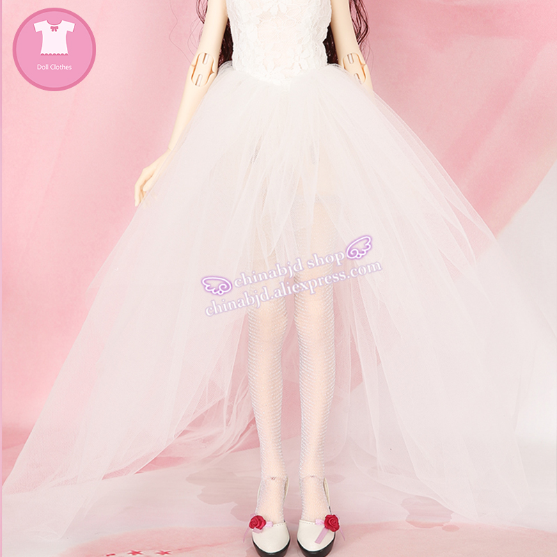 BJD SD  1/4 Doll Clothes Princess Dress Wedding Dress For Dollshe Doll Accessories YF4-187 1