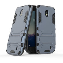 Armor Shockproof Case For Nokia 1 4.5-inch 3D Shield PC+Silicone Phone Cover Fundas Coque