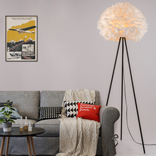 the a1 fashion design unique personality wedding room warm living room lamp room bedroom bedside lamp feathers floor lamps za za