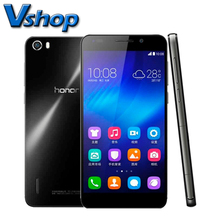 Original huawei honor 6 5.0 pulgadas 3 gb ram 16/32 gb rom android 4.4 Kirin 920 Octa Core 1.3 GHz 4G Smartphone Dual SIM 13.0MP cámara