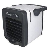 Usb mini condicionador de ar portátil arctic refrigerador de ar umidificador purificador de luz led ventilador espaço pessoal ventilador de refrigeração de ar|Vent.|   -