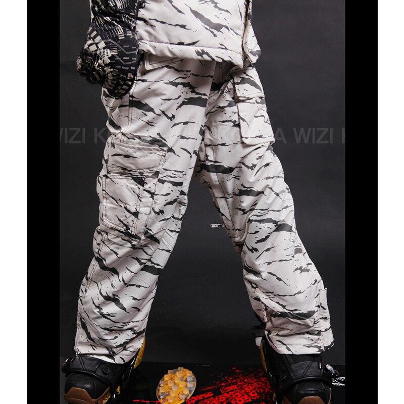 31ea2d146ba Southplay Mens Waterproof Ski-snowboard Military Pants Multi-colors White  Camo Military ) Holiday presents