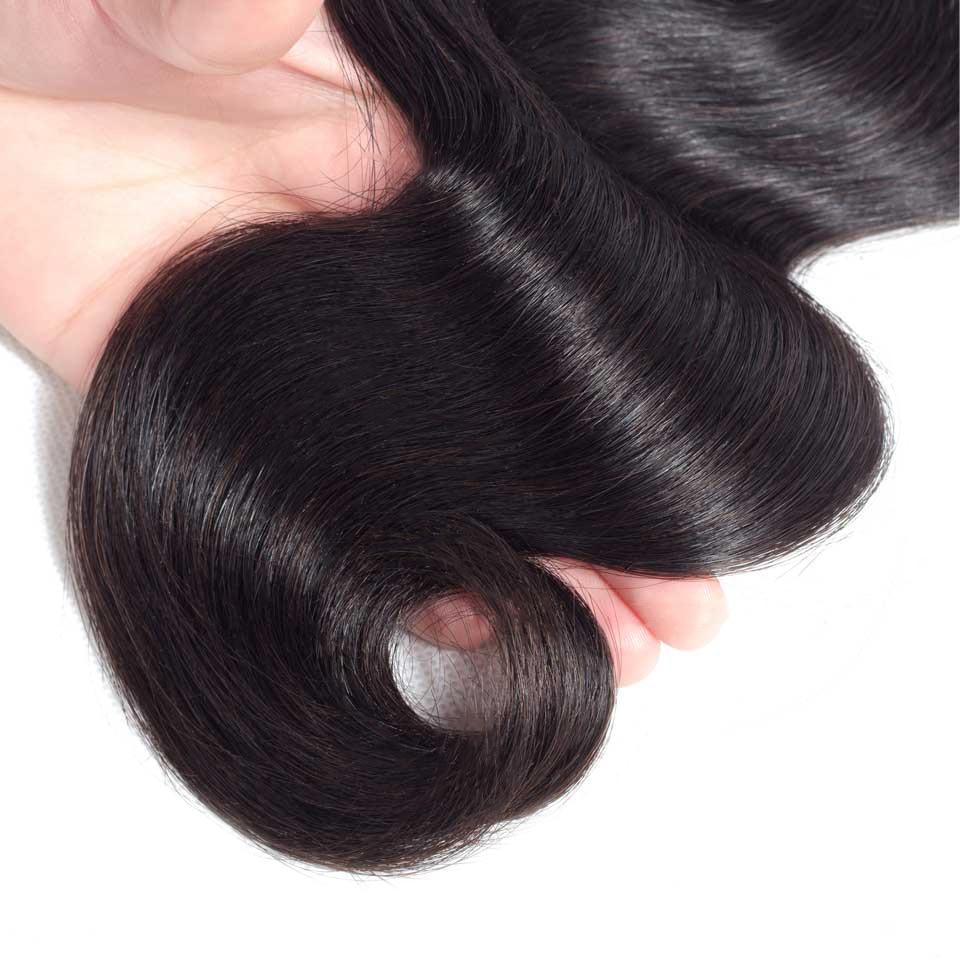 Yyong Hair 4 Bundles  Body Wave     Hair  Bundles 4 PCS 8-30 Inch Tissage péruvien 6