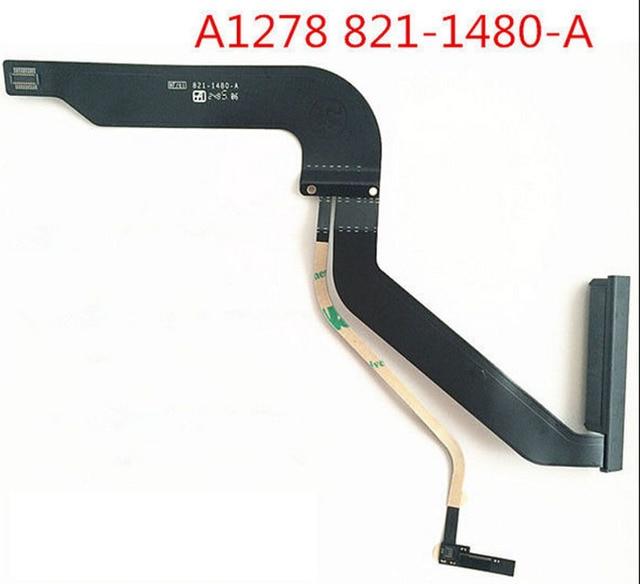 """Cable flexible de disco duro HDD 821 1480 A para MacBook Pro, 13 """", A1278, Mid 2012, MD101, MD102, completamente probado"""