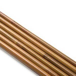 Image 4 - 6/12 pièces tir à larc bambou flèche arbre 83cm bricolage bambou flèche chasse tir composé arc classique flèche cible pratique accessoires