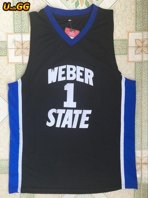 3d39fee2b19 ... denmark uncle gg 2018 mens damian lillard jersey cheap throwback  basketball jersey 1 weber state college