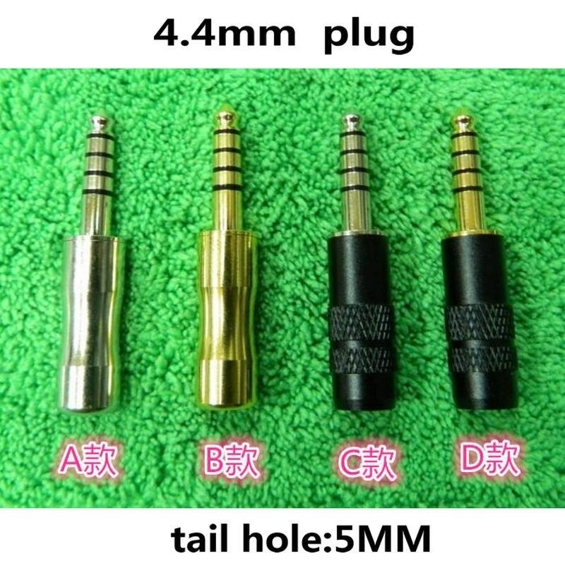 bilder für MLLSE 200 Stücke 4,4mm 5 Pole Kopfhörer Kopfhörer Adapter Stecker Für Sony PHA-2A TA-ZH1ES NW-WM1Z/A AMP Player DIY Zubehör