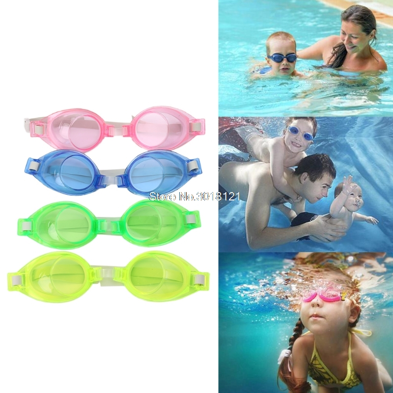 Kids Children Silicone Waterproof Anti Fog Swim Pool Swimming Goggles Glasses ROU_1008