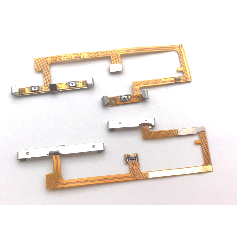 New Side Power Volume Button Flex Cable For Htc Google Pixel 2 Replacement 10pcs/lot Collectibles