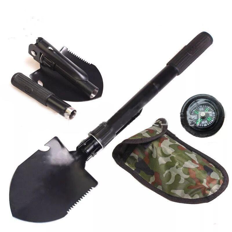 Mini Multi-Purpose Engineer Shovel Military Tactical Folding Shovel Camping Hiking Survival Tools Defensive Shovel Equipment SupMini Multi-Purpose Engineer Shovel Military Tactical Folding Shovel Camping Hiking Survival Tools Defensive Shovel Equipment Sup