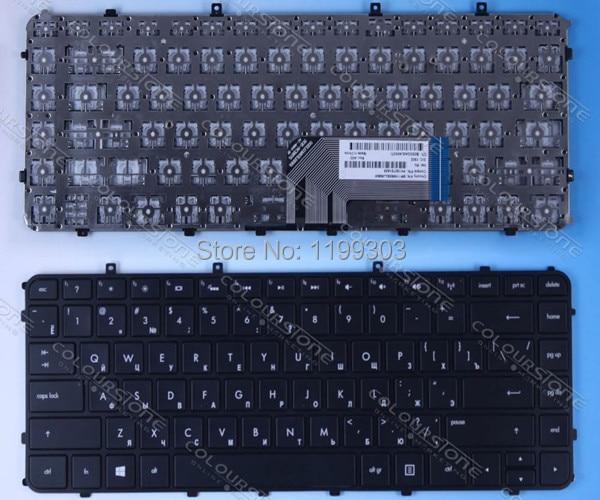 Best seller laptop keyboard for hp ENVY4-1000 RU Black version keyboard