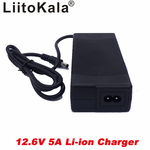 Image 4 - liitokala 12.6V 5A power charger,12.6V charger for CCTV battery pack,5A charger for 12V lithium battery 12V battery charger