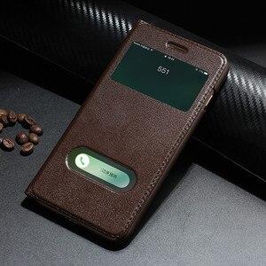 Image 1 - Retro Luxury Leather Flip Case for iPhone 8 plus Genuine Cowhide Flip Case for Apple iPhone 7 plus/7/8/10 X Magnetic Closure