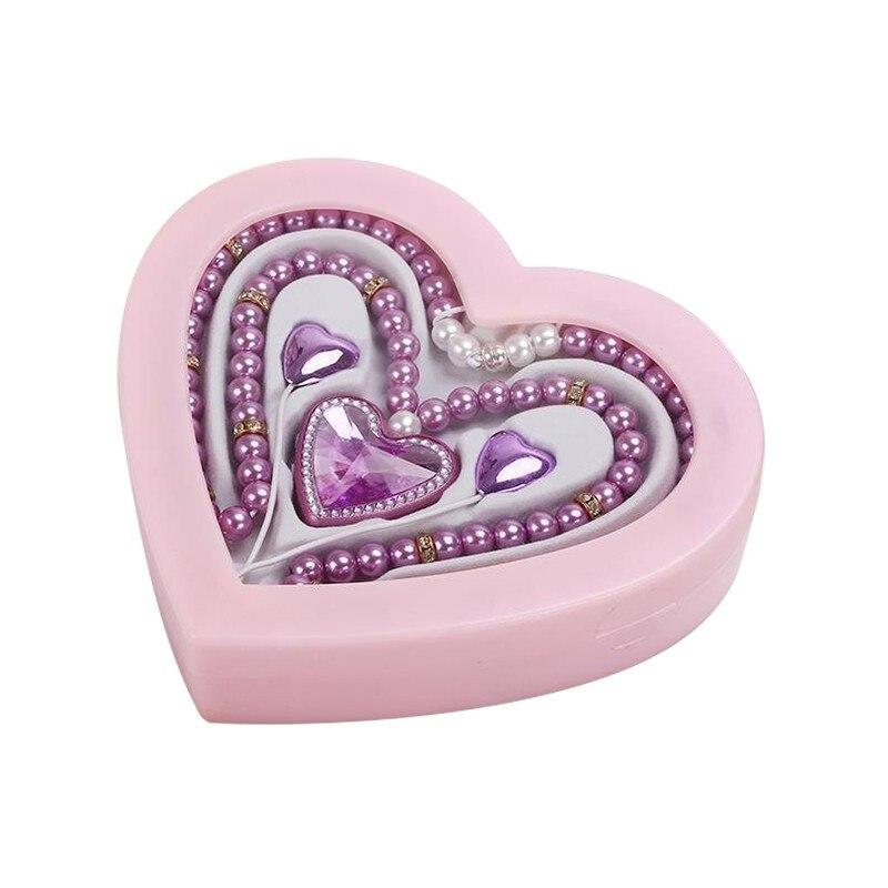 bilder für Luxus Herzform Drahtlose Bluetooth Perle Perlenkette Kopfhörer Freihändiger Kopfhörer mit Mic für Weihnachten Mädchen Geschenk