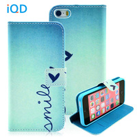 For IPhone 5c Case Premium PU Leather Wallet Flip Protective Skin Cover Case With Magnetic Clasp