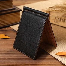 PHENAS New South Korea Multifunctional Magic Money Clips 3 Colors Ultra-thin Men Wallet