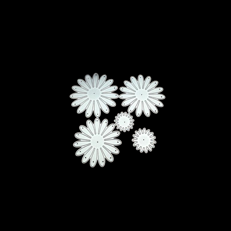 Flower Metal Cutting Dies Stencils For Scrapbooking Photo Album Decoration Embossing Paper Card Craft Template Folder Suit