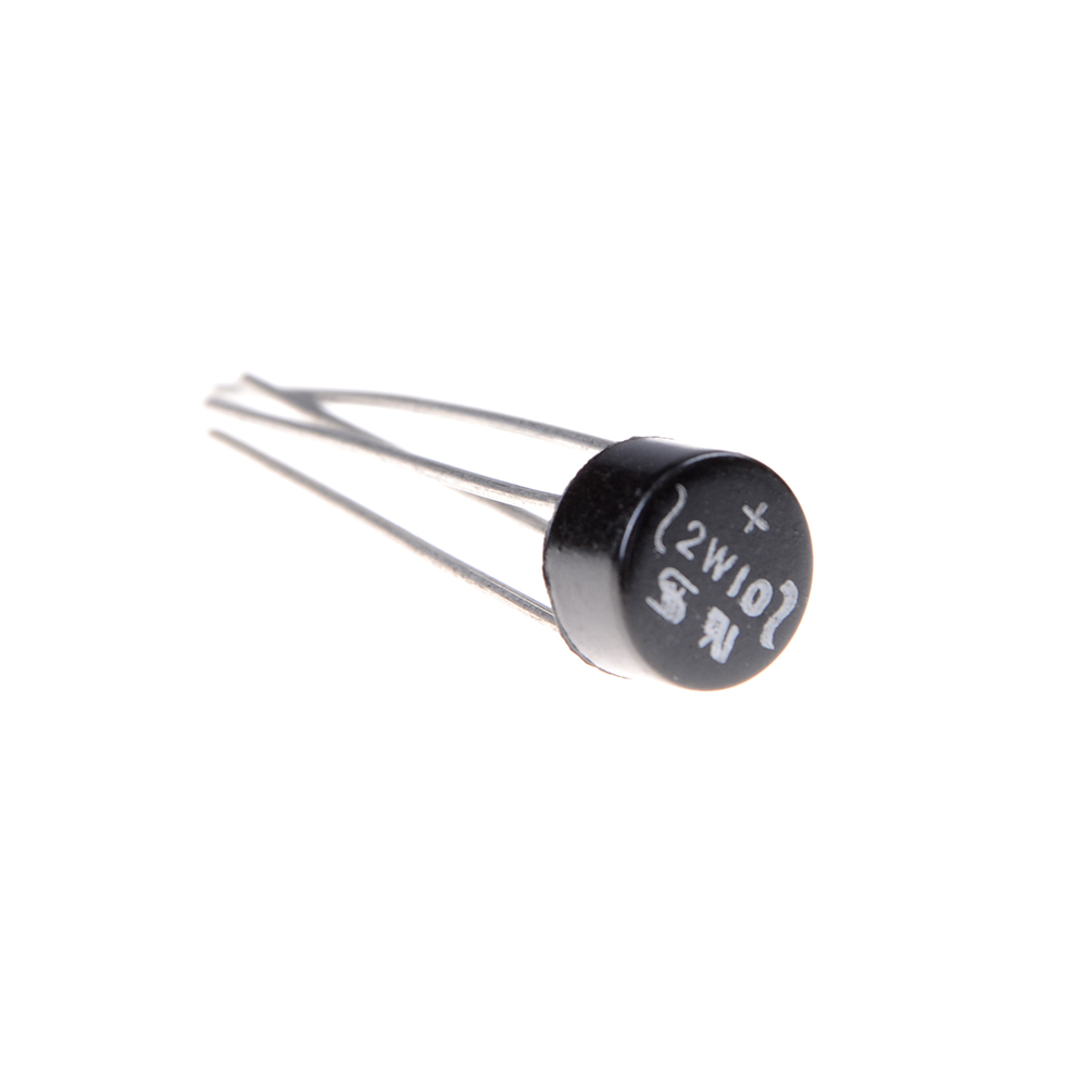 50PCS 2W10 2A Bridge Diode Rectifier NEW