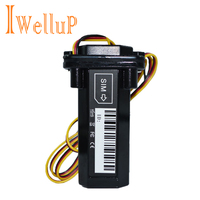 Mini Waterproof Builtin Battery GSM GPS Tracker For Car Motorcycle Vehicle Tracking Device With Android IOS