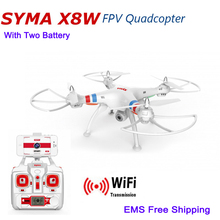 Brand Profession RC Helicopter Syma X8W RC Drones with Camera WiFi FPV RC Quadcopter 2.4G 4CH 6-Axis RTF Kvadrokopter RC Drones