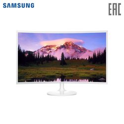 Gebogene monitor Samsung 31,5 C32F391FWI gaming